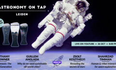 Astronomy on Tap Leiden: October 26th (online)