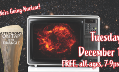 Astronomy on Tap Triangle #24: Tuesday, December 1, 2020