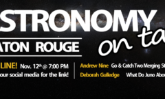 AoT Baton Rouge – 12 November ONLINE