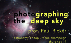 Astronomy on Tap Champaign-Urbana: Nov. 19, 2020