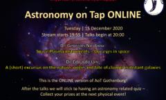 AoT Gothenburg | 15 December @ 8pm | Online