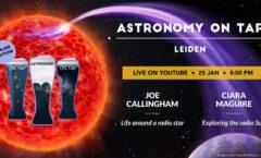 Astronomy on Tap Leiden (Online): January 25, 2021