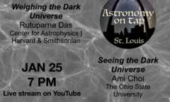 Astronomy on Tap -STL online, January 25th, 2021