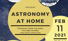 Astronomy at Home Seattle: February 11th (Online)