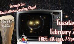 Astronomy on Tap Triangle #25: Tuesday, February 2, 2021