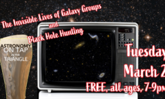 Astronomy on Tap Triangle #26: Tuesday, March 2, 2021