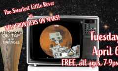 Astronomy on Tap Triangle #27: Tuesday, April 6, 2021
