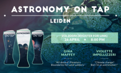 AoT Leiden (on Zoom): Astronomers for Planet Earth! Apr. 26, 2021