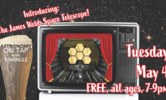 Astronomy on Tap Triangle #28: Tuesday, May 4, 2021